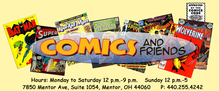 Comics and Friends